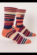 BQ Mens Sassy Socks - Fun Person Alert