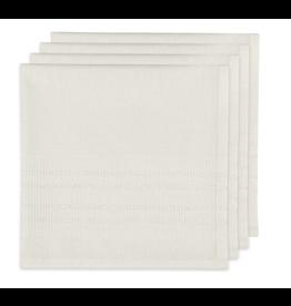 Woven Napkins Estela White S/4