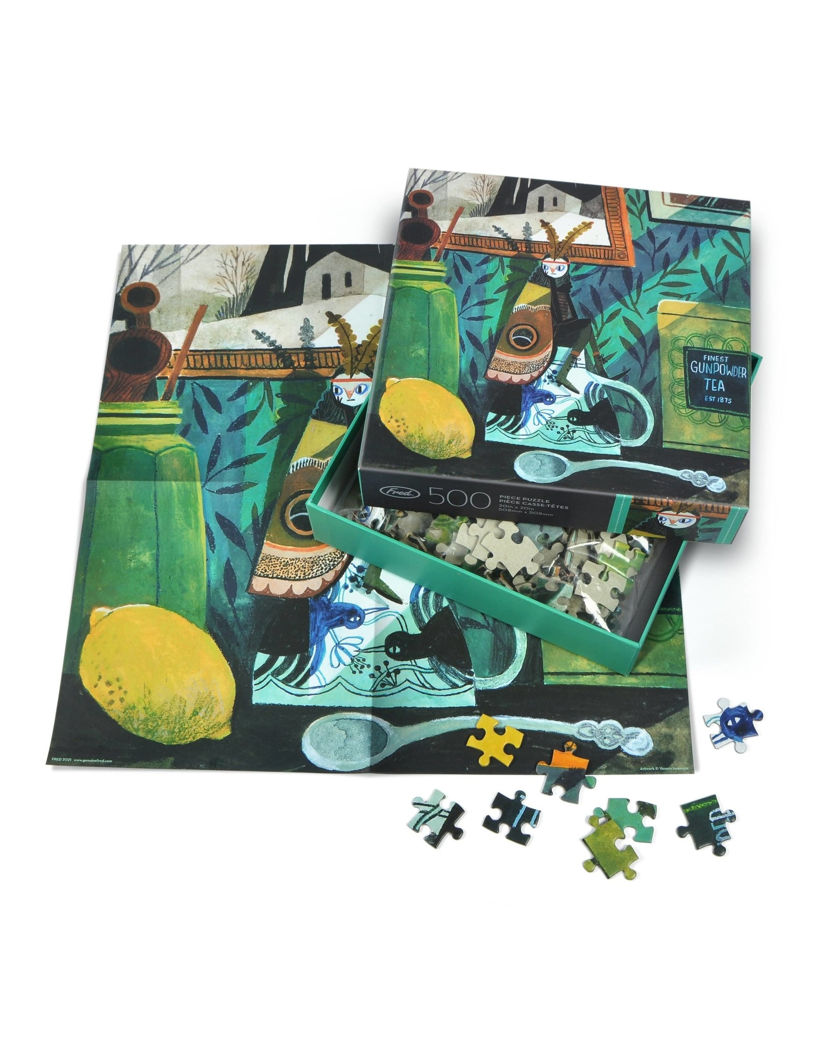 Moth Girl - 500pc Puzzle