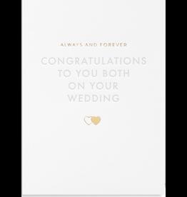 Wedding - Congratulations to you Both