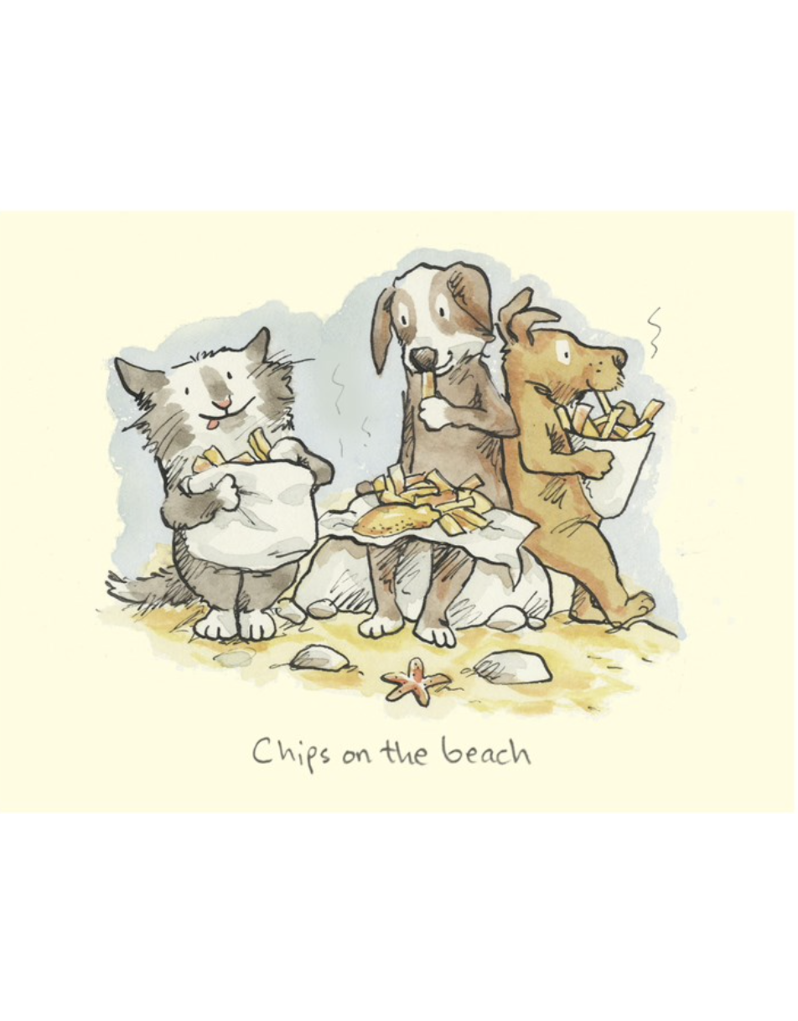 Just Because - Chips on the Beach