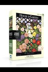 New York Puzzle Co Floral Trellis Puzzle  - 1000 Pieces