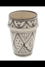 Moroccan Cup Light Grey