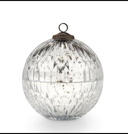 Balsam & Cedar Glass Ornament Candle