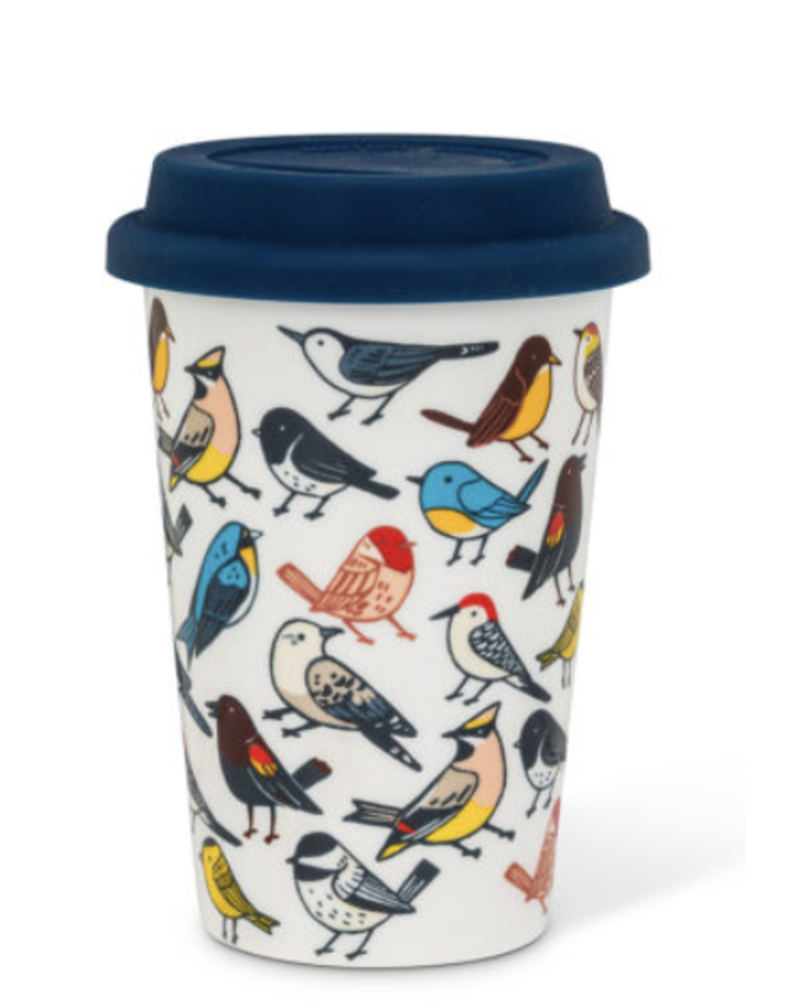 Allover Birds Takeaway Cup