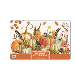 Michel Design Michel Sweet Pumpkin Paper Placemats