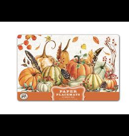 Michel Sweet Pumpkin Paper Placemats