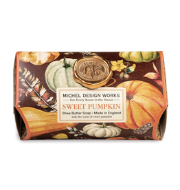Michel Design Michel Sweet Pumpkin Lg Bath Bar