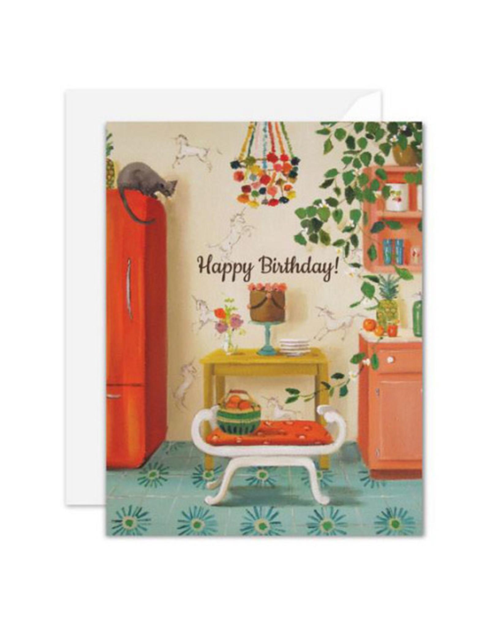 Janet Hill Studio Birthday - Happy Birthday! - Cozy