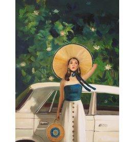 "Janet Hill Studio Art Print - Mulholland Drive - 8.5"" x 11"""