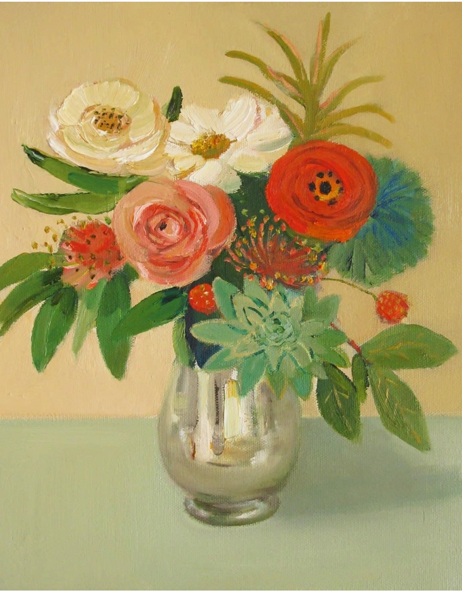 """Janet Hill Studio Art Print - Mint Mercury - 8.5"""" x 11"""""""