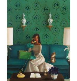 "Janet Hill Studio Art Print - Crank Caller - 8.5"" x 11"""