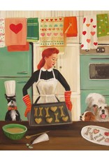 "Janet Hill Studio Art Print - Generous With Love - 8.5"" x 11"""
