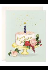 Birthday - Peach Cake Birthday