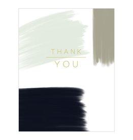 Thank You - Thank You Brush Strokes