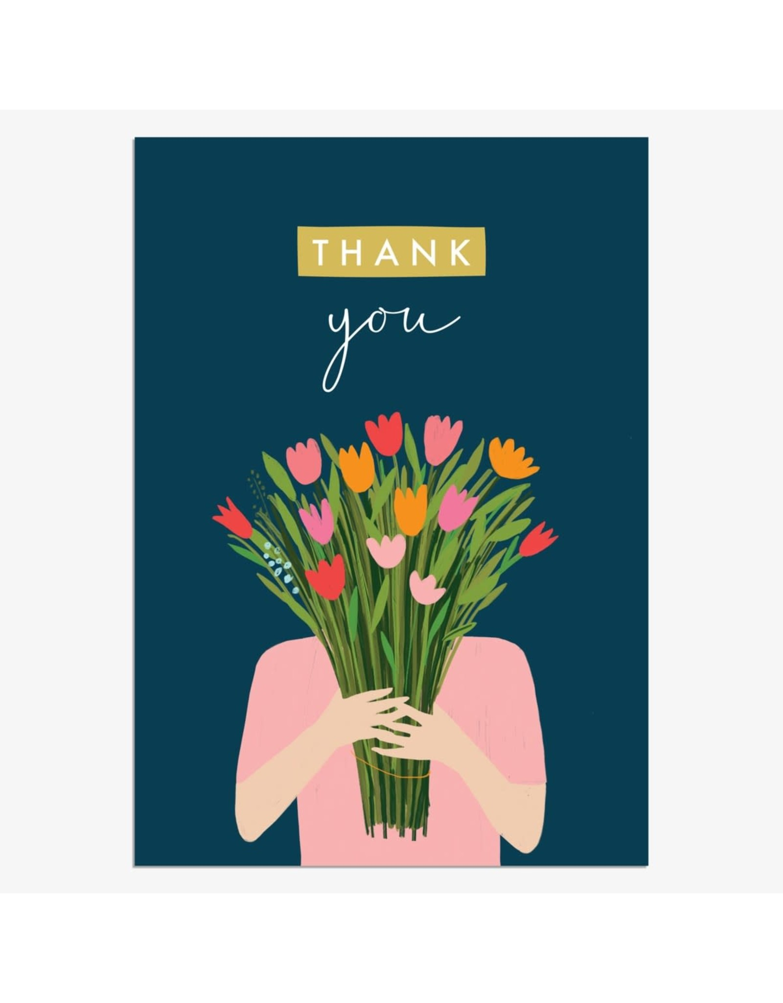 Thank You - Bunch of Flowers