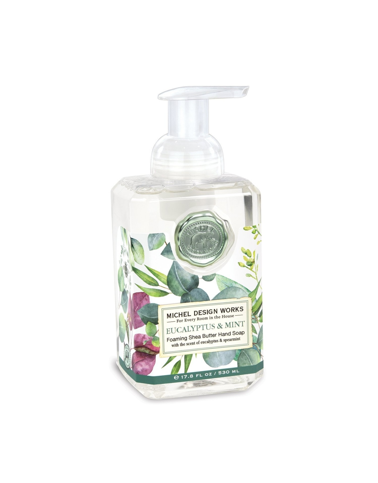 Michel Design Michel Eucalyptus & Mint Foam Soap