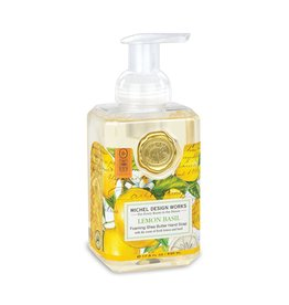 Michel Design Michel Lemon Basil Foam Soap
