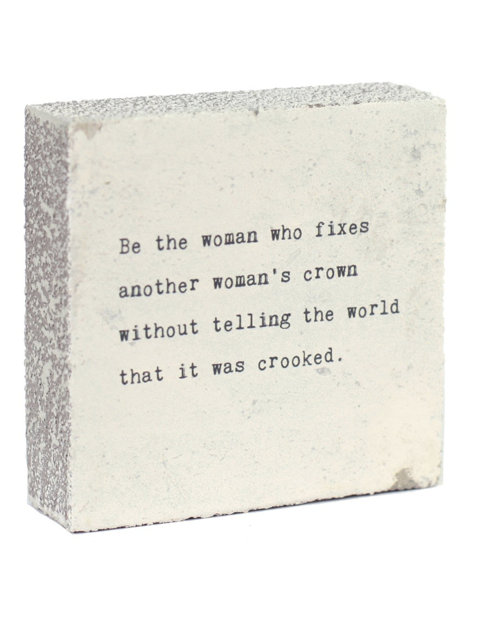 Wall Blocks - Be The Woman