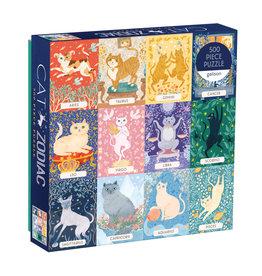 Cat Zodiac Puzzle - 500 Pieces