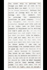 Wonderful Words - Life