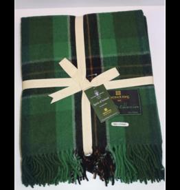 Patrick King Woollen Co. PK Highland Wool Throw - Sprit Of Ireland