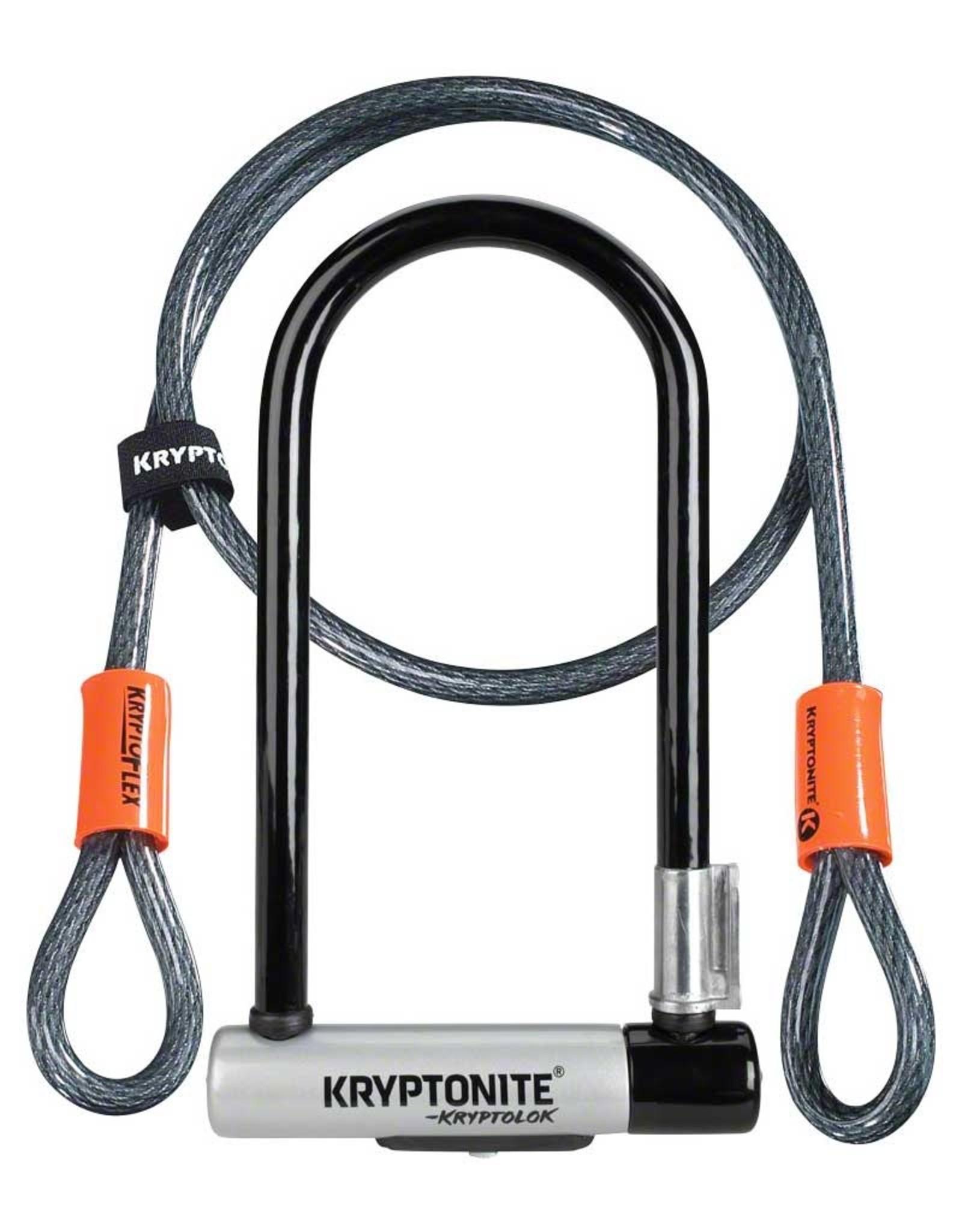 Kryptonite U-Lock Kryptonite Kryptolok STD w/ Cable