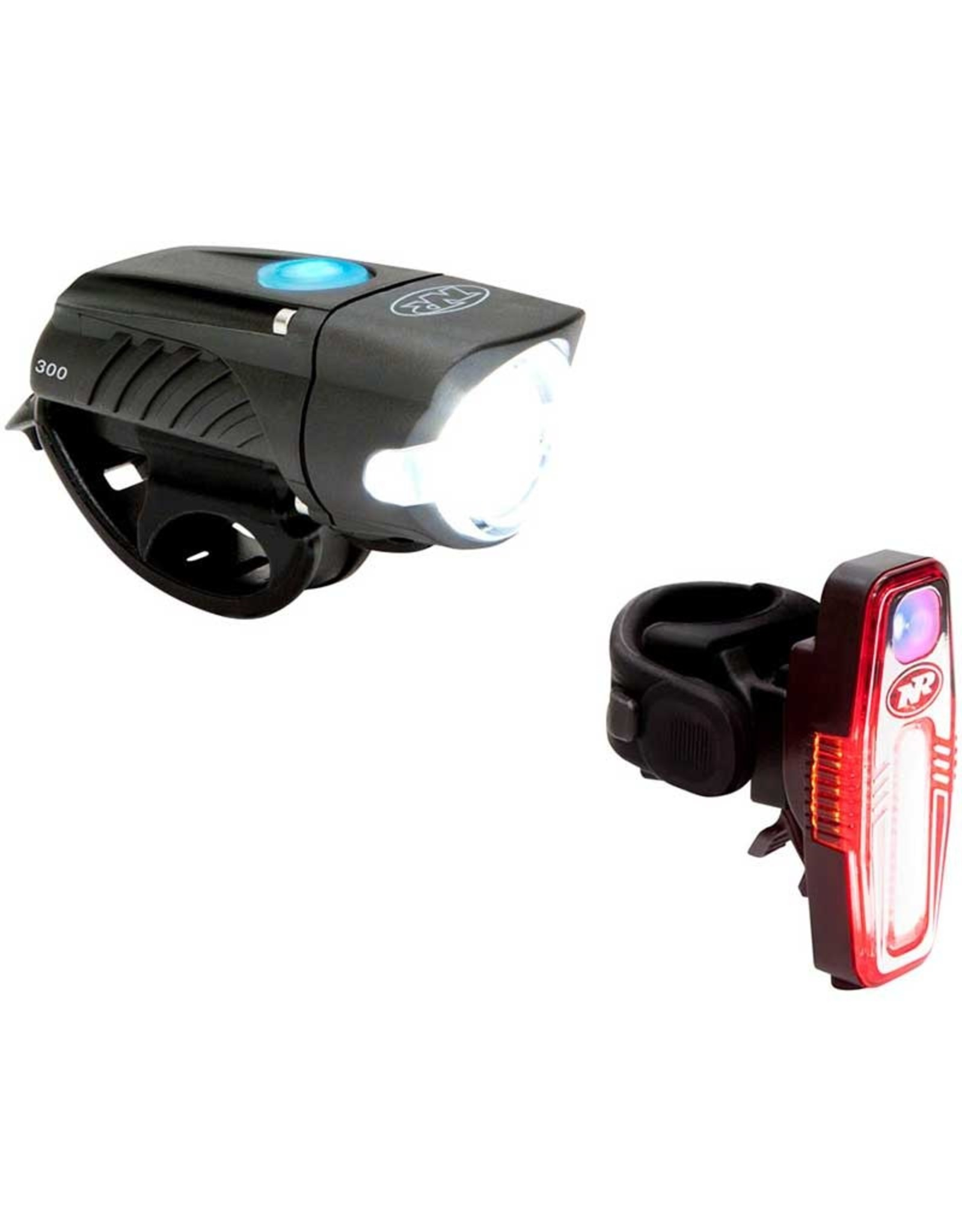 NiteRider Rechargeable Light Combo, Swift 300 & Sabre 80