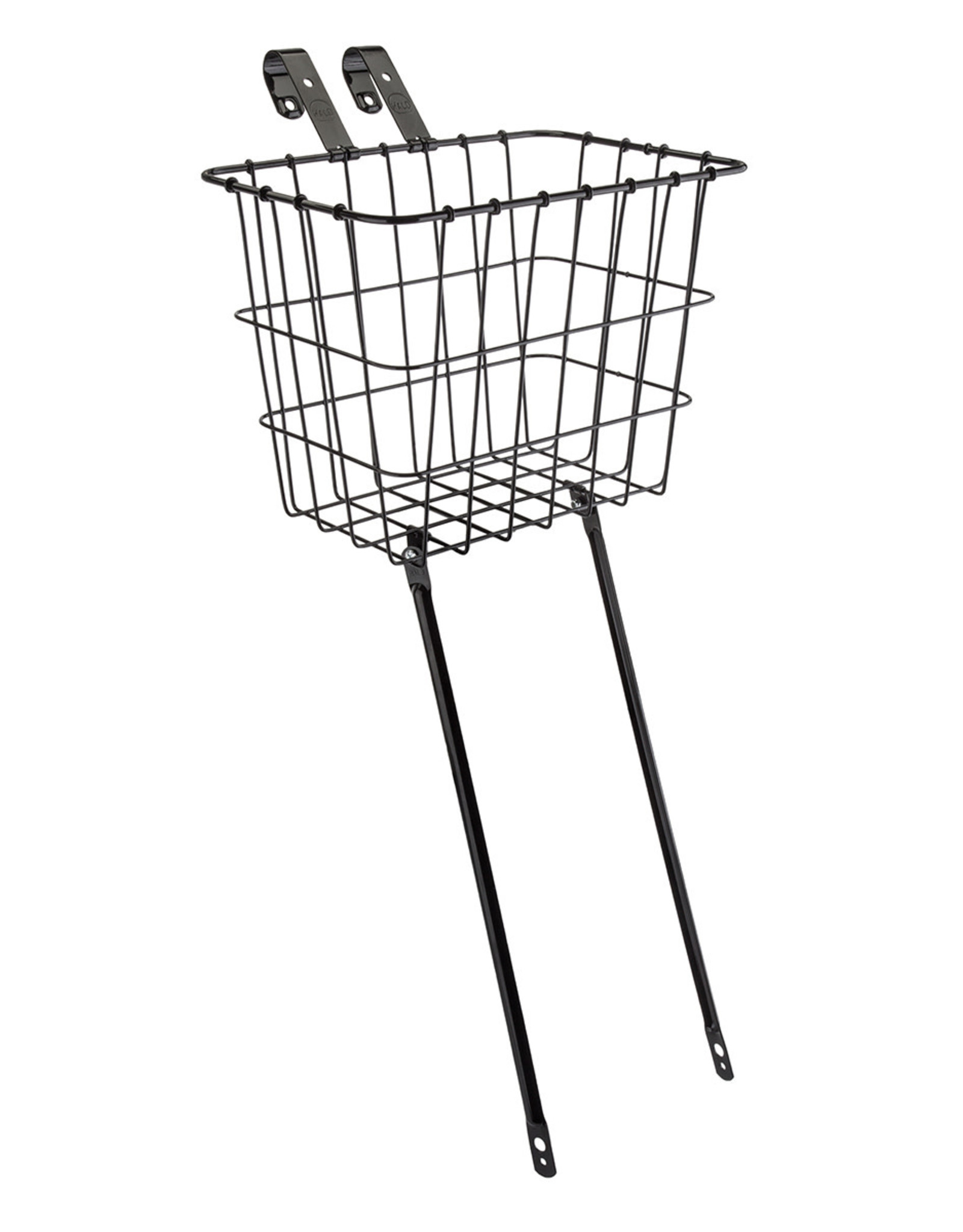 """WALD PRODUCTS Wald Front Basket 11.75""""x8""""x9"""" Black"""