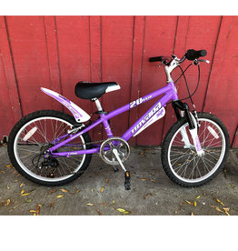 "Novarra Pixie 7-speed Pink - 20"" wheels"