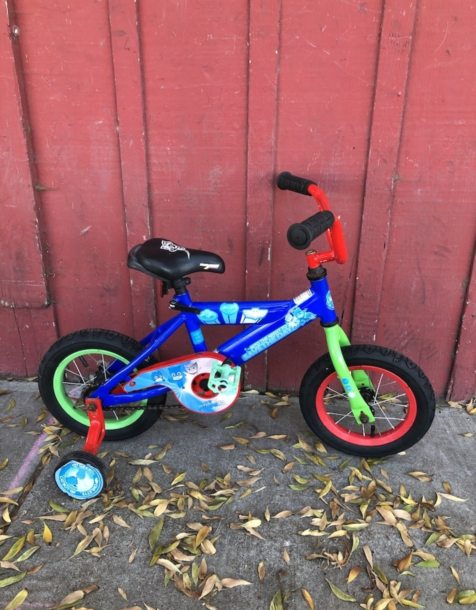 "Into the Night/Save the Day! - 12"" wheels w/training wheels"