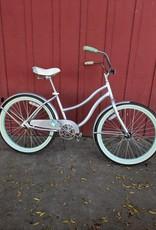 "Huffy 24"" kid's cruiser, silver"