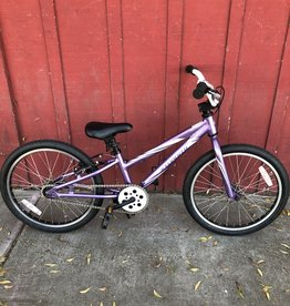 "Specialized Hotrock Purple - 20"" wheels"