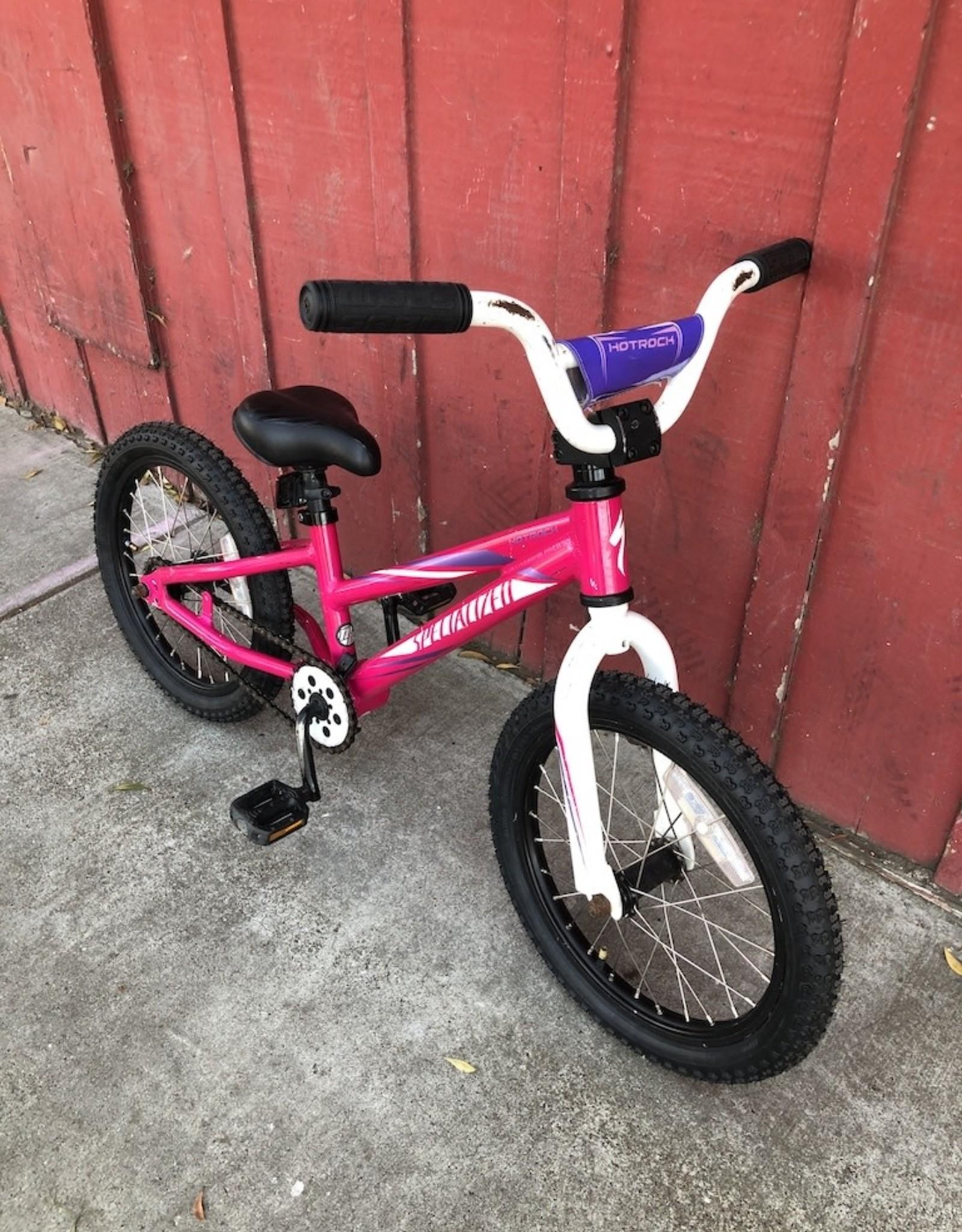 """Specialized Hotrock Pink - 16"""" wheels"""