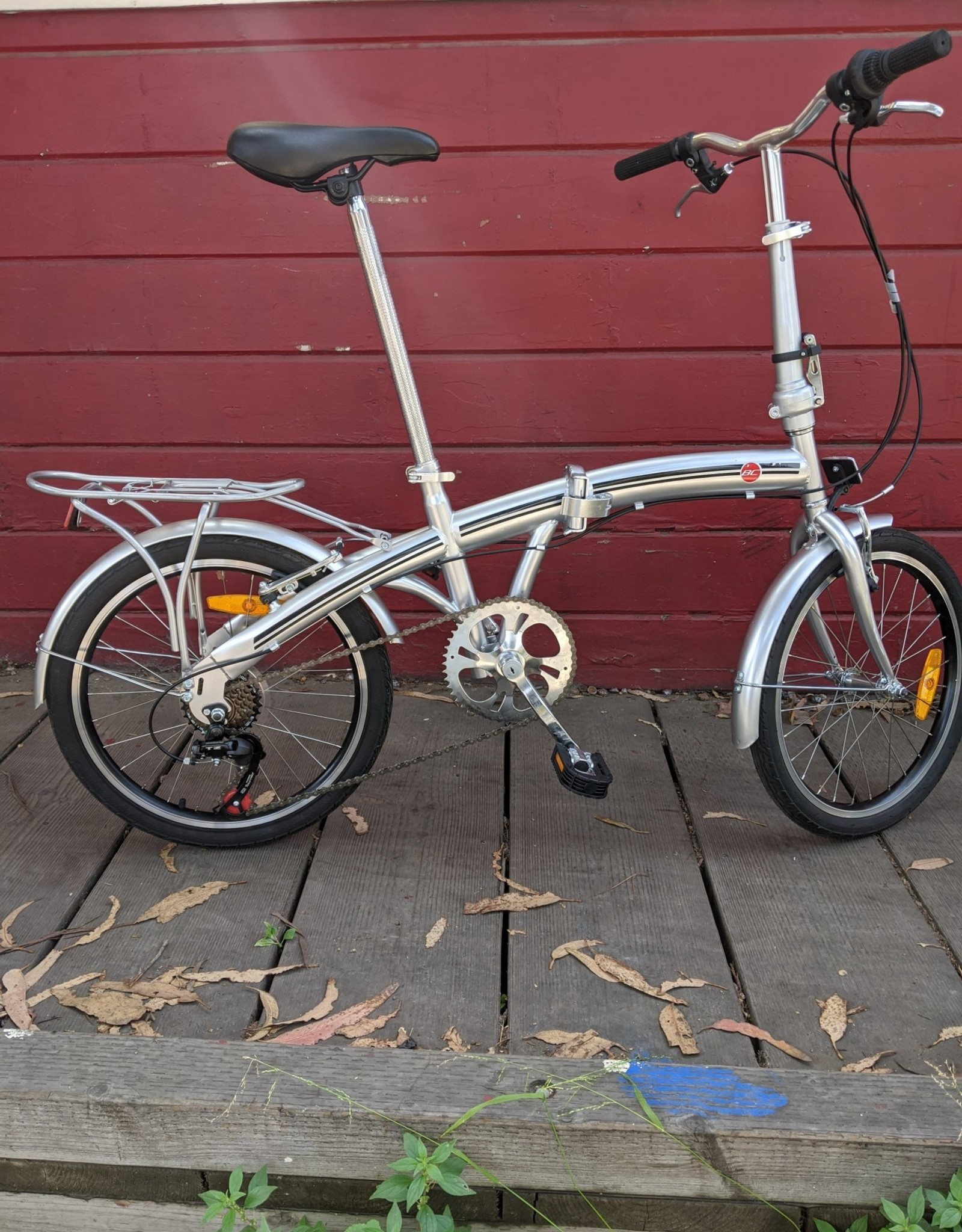 BC folding bike, one size fits most