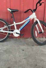 Cannondale white 20 inch kids bike