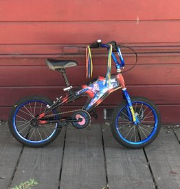 Amazing Spiderman Bike - 16in Wheels