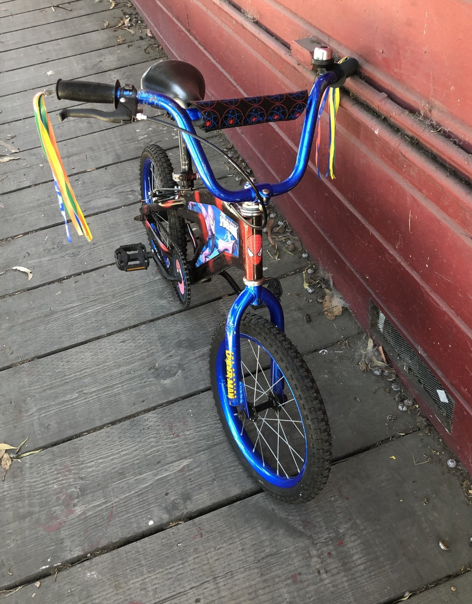 Amazing Spiderman Bike - 16in Wheels