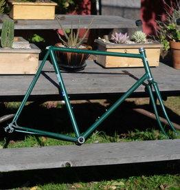 Green Lugged Steel Road Frame - 58cm