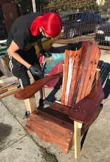 Adirondack Chair - Reclaimed Redwood