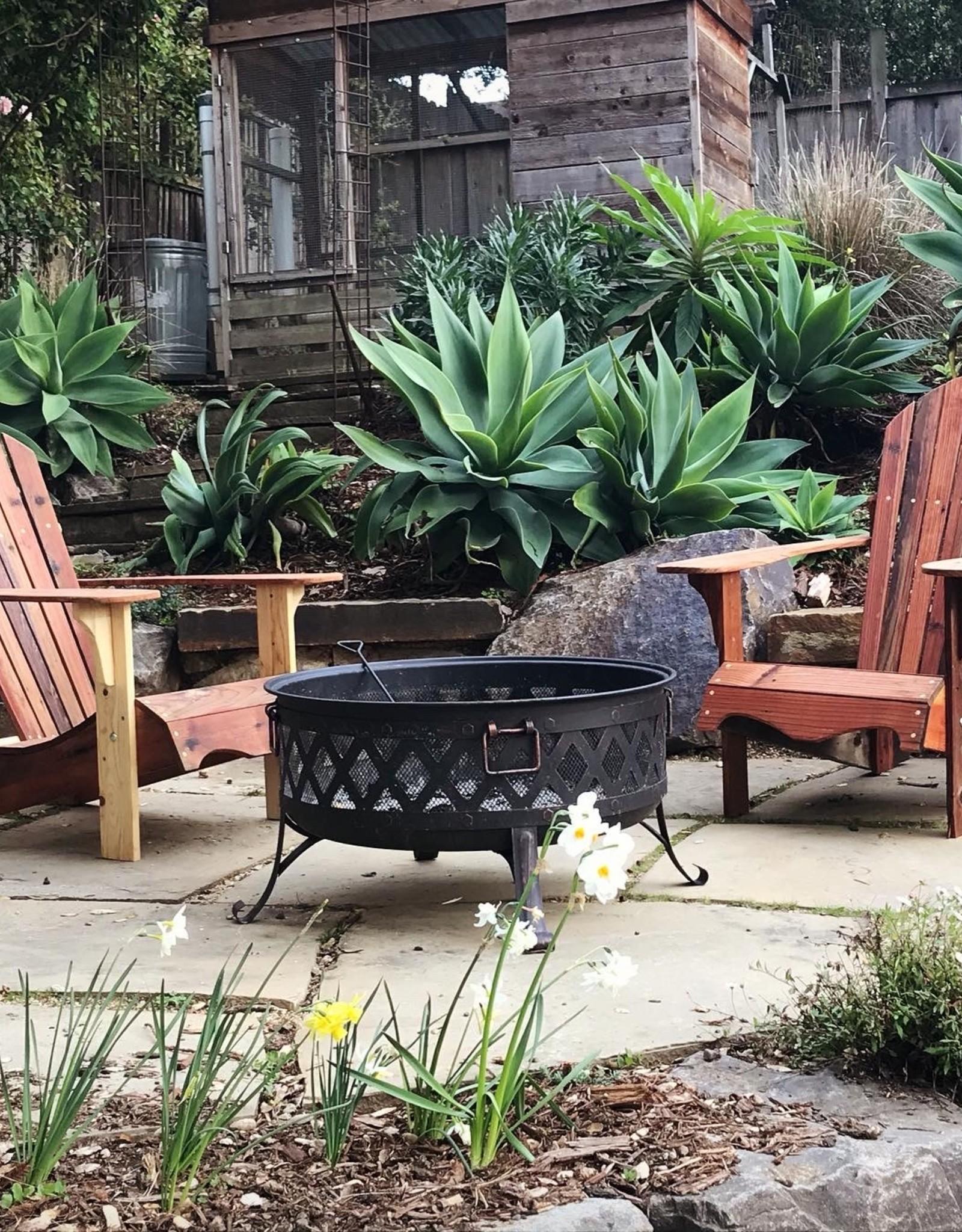 Adirondack Chair - Reclaimed Redwood