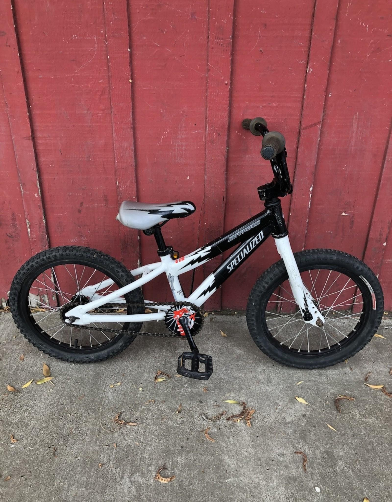 """Specialized Hotrock (white) - 16"""" wheels"""
