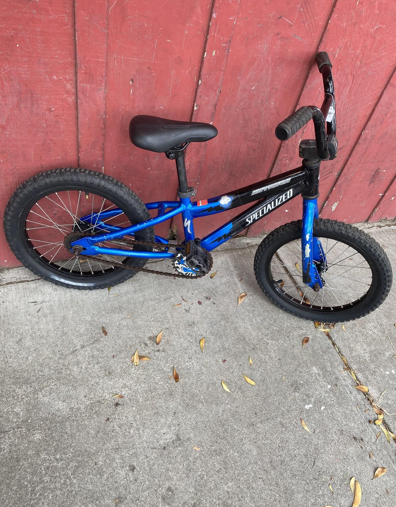 """Specialized Hotrock (balck/Blue) - 16"""" wheels"""