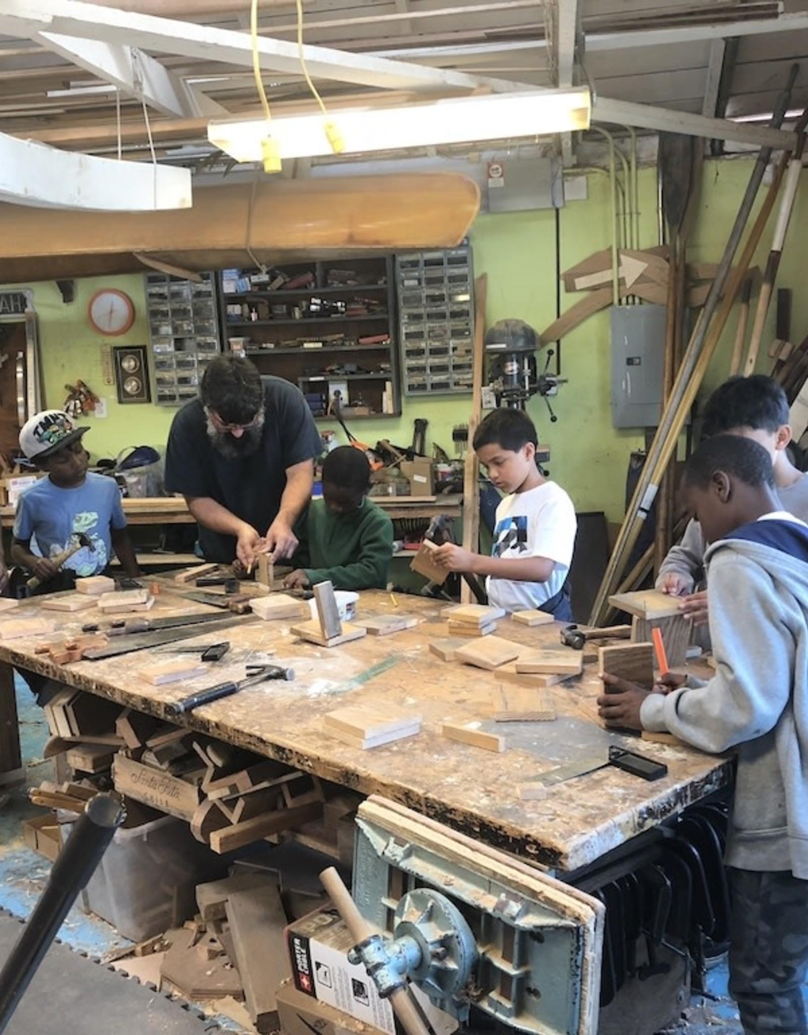 Saturday Boat Shop Class - 7 sessions