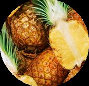 Viandex Morceaux d'ananas congelés (1kg)