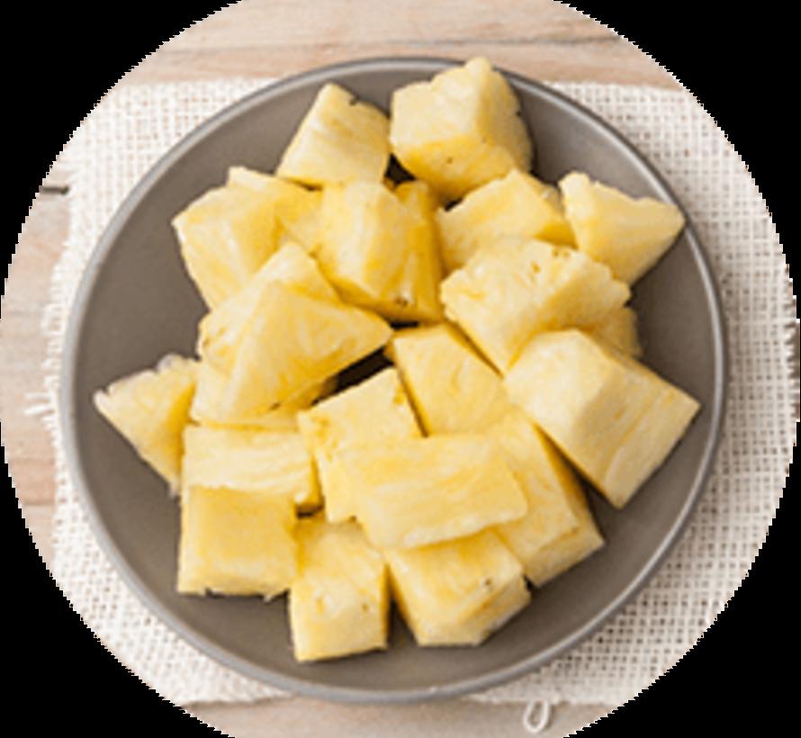 Morceaux d'ananas congelés (1kg)