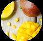 Morceaux de mangues congelées (1kg)