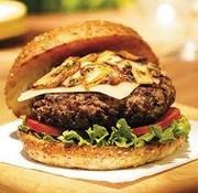 Richelieu Bison - burger, (4) (environ 4oz.), congelé