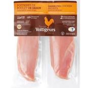 Viandex Poitrines de poulet désossées (2) (environ 450g), congelé