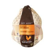 Viandex Poulet de grain (1 entier) (environ 2 kg), congelé